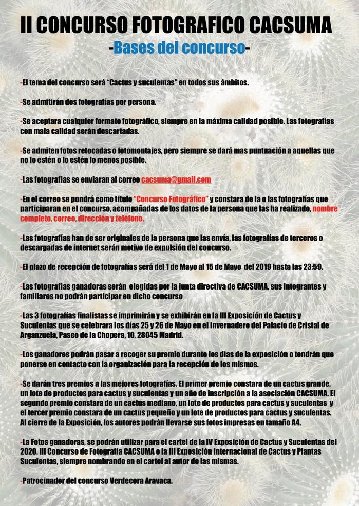 Normas II Concurso CACSUMA